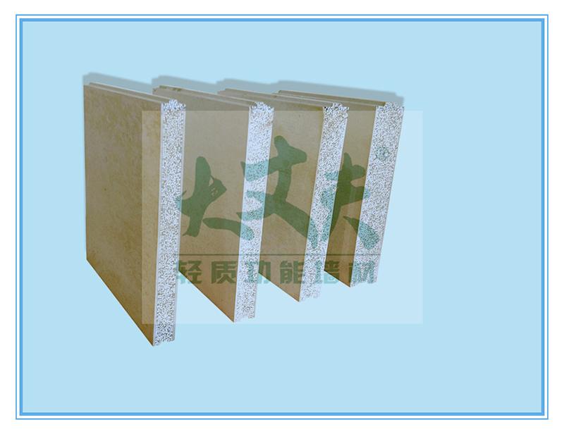 聚苯乙烯泡沫颗粒复合墙板